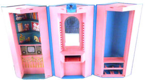 Barbie Home Office 7897 Day To Night Foldable Playset Fashion