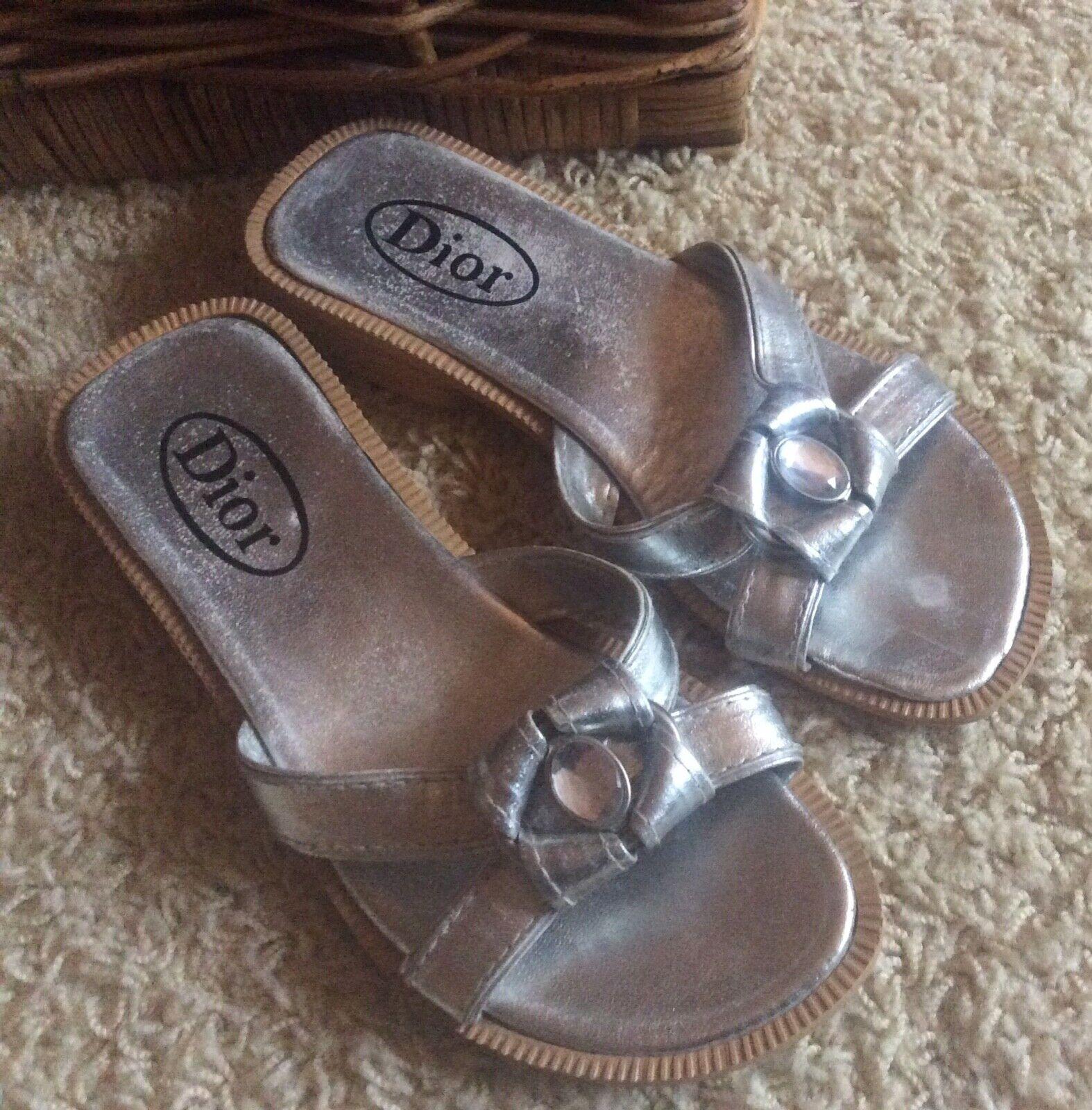 shoes sandals flip -flop sz 37
