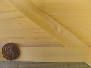Bias-Binding-25mm-Lemon-Poly-Cotton-15-metres