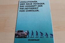 143194) Chrysler Voyager Prospekt 03/1991