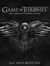 Game of Thrones: Season 4 (DVD, 2015, 4-Disc Set)