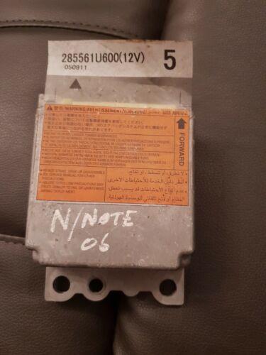 Nissan Note E11 2006 Airbag Control Unit 285561u600