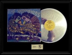 YARDBIRDS-LIVE-RARE-LP-GOLD-RECORD-PLATINUM-DISC-PAGE-CLAPTON-BECK