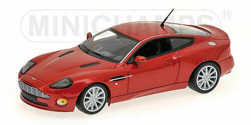 red m 1:43 519431372 Minichamps Aston Martin Vanquish S 2004