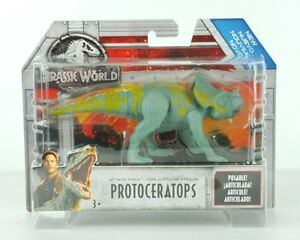 """Jurassic World Fallen Kingdom Attack Pack Dinosaur Figure 4/"""" Protoceratops"""