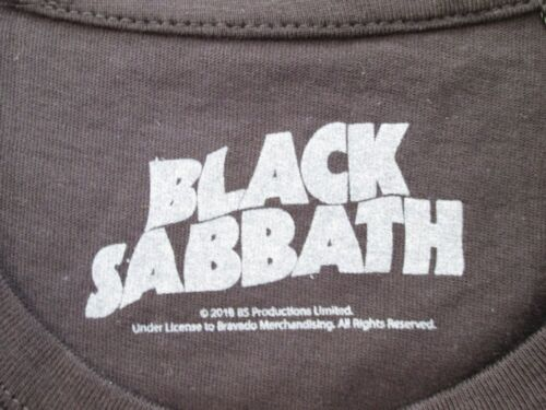 T-Shirt Originale Black Sabbath Rock Maglia Maglietta Heavy Metal Novità 2018