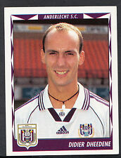 Panini Belgian Football 1999 Sticker - No 53 - Anderlecht - Didier Dheedene