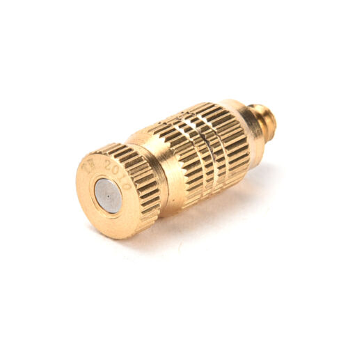 0.1-0.5mm Brass Misting Nozzles for Cooling System Humidification Sprayer LTCA