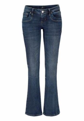 LTB Jeans Valerie 5145 Bootcut Damen Hose Blau Used Stretch Denim Flare W32 L30