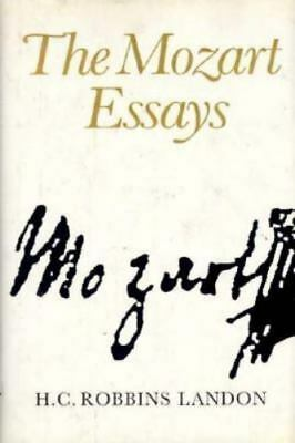 Essays about mozart