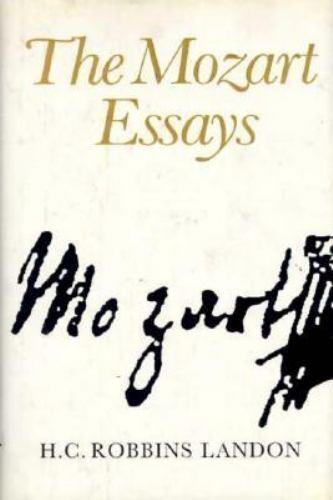 Essays on mozart