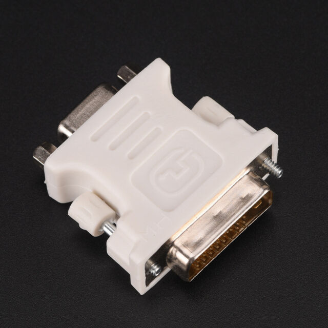 DVI-D Digital Dual Link Male24+1 to VGA Female Adapter Computer Monitor/&AdapterP