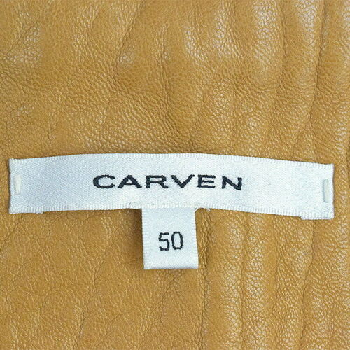 Sleeves Gris Switching Hombre Stadium Leather Carven 50 Camel Td17CqCnw