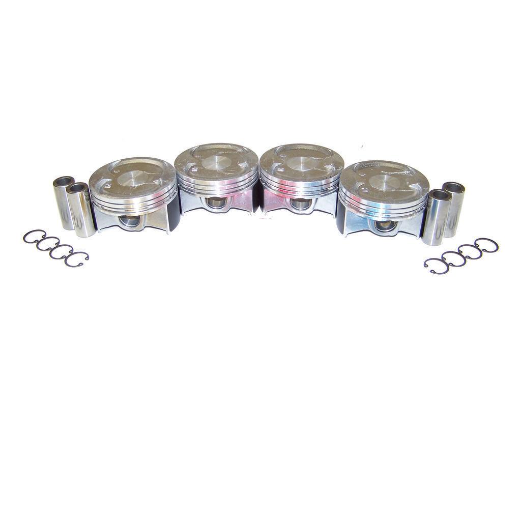 Diamond Power Piston Ring Set Replacement for Honda Accord CR-V Element 2.4 L K24A1 4 DOHC SIZE STD