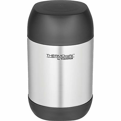 Thermos Challenger Food Flask, 0.5L, Silver & Black