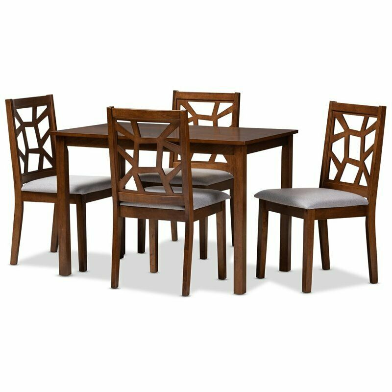 Brayden Studio Paquette 5 Piece Extendable Dining Set For Sale Online Ebay