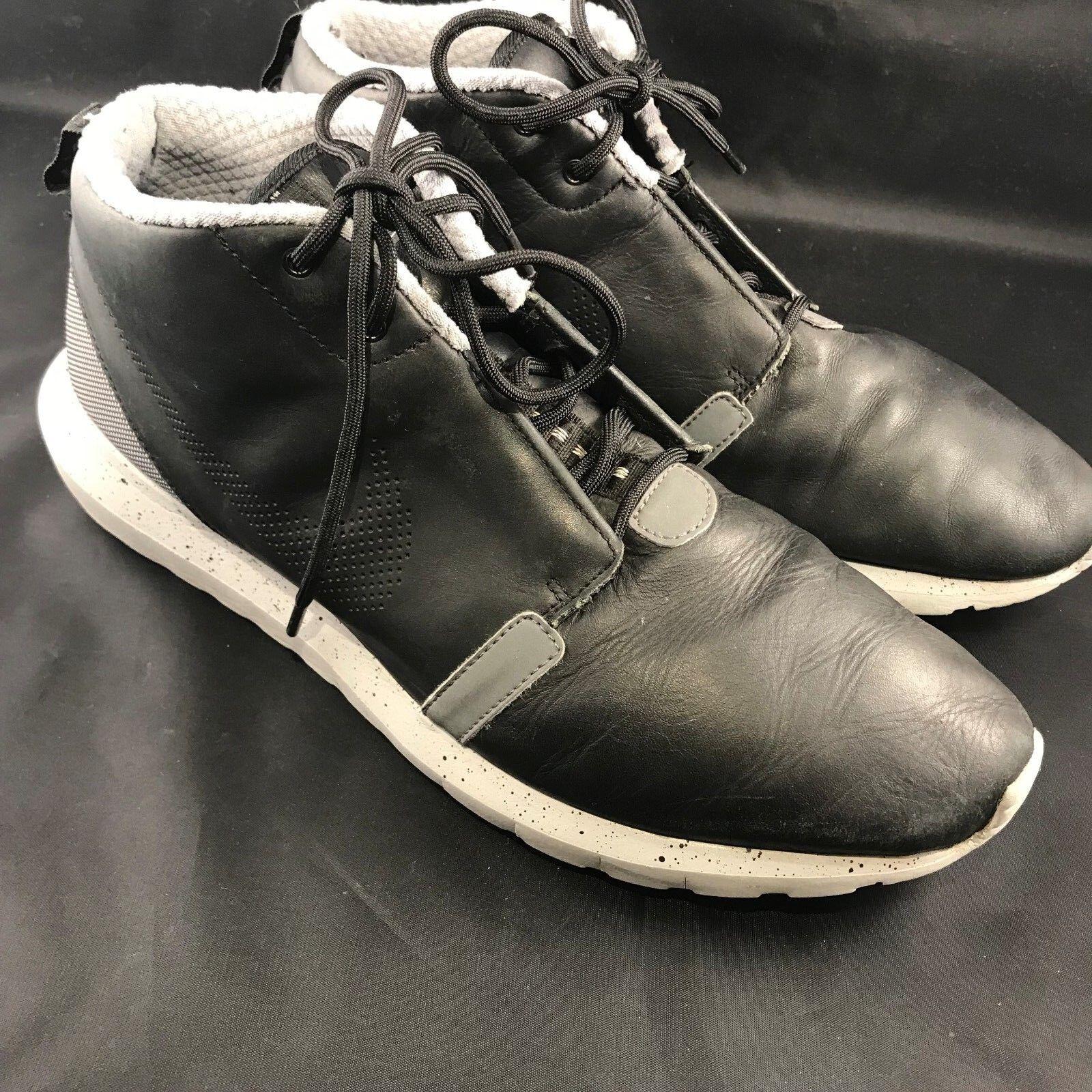 Seltene nike roshe nm lauf nm roshe sneakerboot 684704-001 männer sz 11,5 schwarz - grauen zement 18c8f8