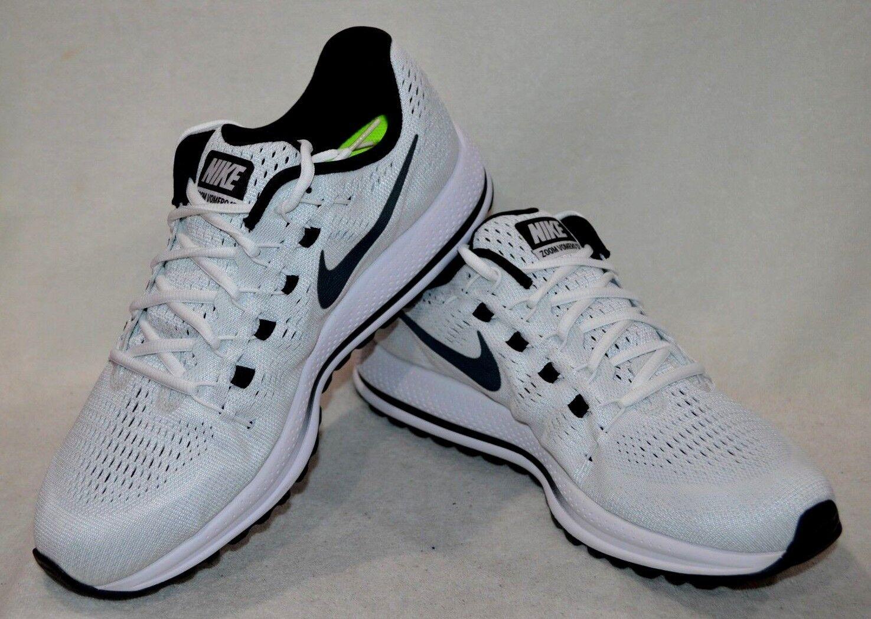 Nike Men's Air Zoom Vomero 12 White Black Platinum Running shoes-Asst Sizes NWB