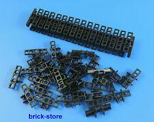 LEGO® /  Technic 64 schwarze breit Kettenglieder / Raupenkette / Panzer Kette