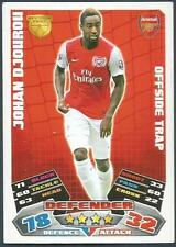 TOPPS MATCH ATTAX 2011-12- #004-ARSENAL-JOHAN DJOUROU