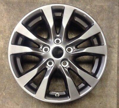 Nissan Altima 2014 98931 62718 aluminum Charcoal OEM wheel rim 16 x 7