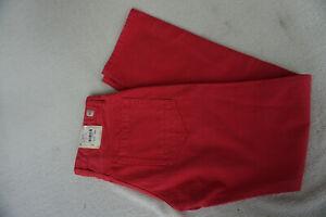 Mc-Neal-Steve-Jeans-Homme-Coupe-Droite-Pantalon-33-32-W33-L32-Rouge-Neuf-P9