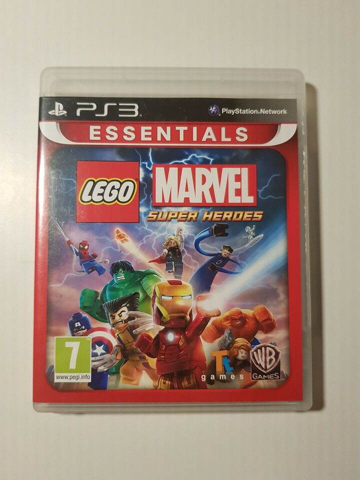 Lego Marvel super heroes, PS3