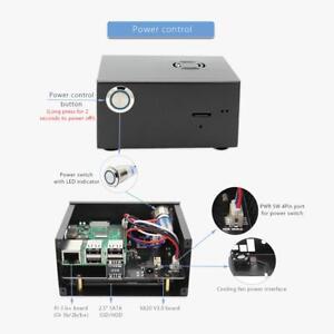 Raspberry-Pi-X820-V3-0-Expansion-Board-Metal-Case-Power-Control-Switch-Fan-kit