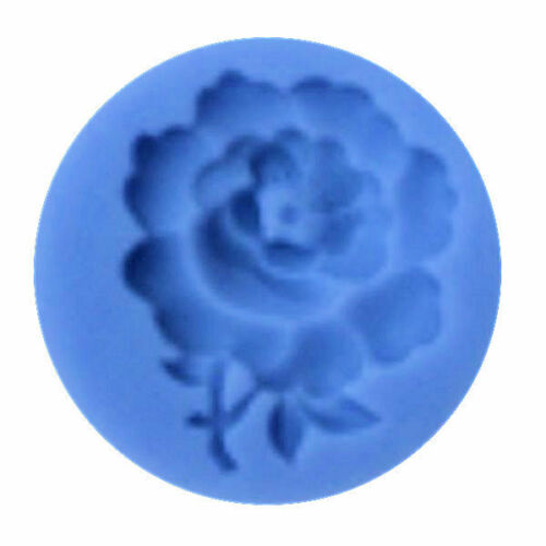 Gum Paste /& Chocolate NEW Rose with Stem Silicone Mold for Fondant