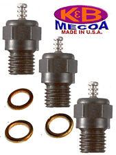 K&B 7311 LONG REACH KB 1L GLOW PLUG qty of 3 --- Best Plug for your engine