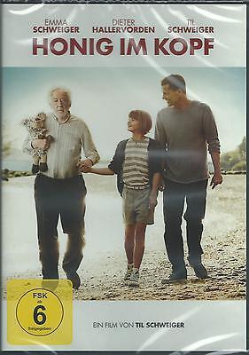 DVD - Honig im Kopf - Til Schweiger - Dieter Hallervorden - Neu & OVP