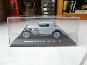 Panhard-6CS-Fake-Cabriolet-1935-ixo-altaya-1-43-Miniature