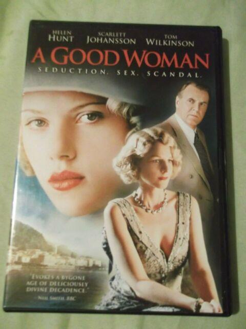 A Good Woman  2006 DVD Helen Hunt Scarlett Johansson Tom Wilikinson