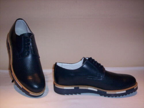In Uomo Scarpe Shoes Made Italy Eleganti Classiche Blu Marroni Pelle Men Casual fqndwYx