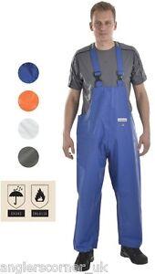 Ocean Off Shore Hurricane / Bib & Brace Trousers / Work Wear / Fishing / 9-16C