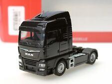 Herpa LKW MAN TG-X XLX//Aerop E6c SZM schwarz 308335