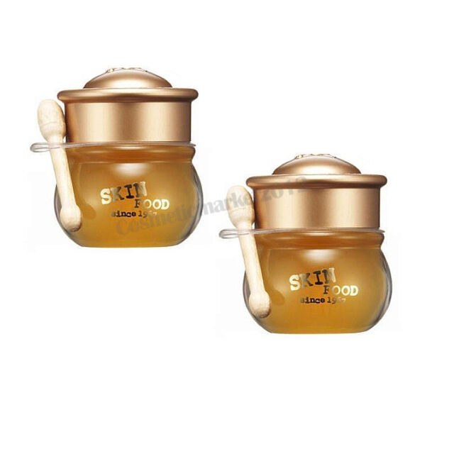 SKINFOOD [Skin Food] Honey Pot Lip Balm 6.5g #3 Honey Pot Honey 2pcs