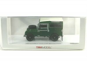LAND-ROVER-SERIE-I-107-Recovery-CAMION-verde-Bianco-1957