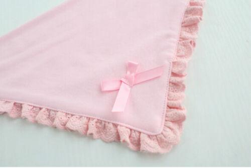 Newborn Toddler Cotton Baby Bibs Boy Girl Saliva Towel Kids Bib Feeding TK