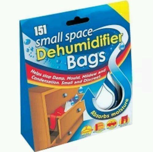 Petit Espace Déshumidificateur sacs sachets intérieur tiroir Humidité Moisissure Absorbeurs
