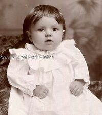 ANTIQUE CABINET PHOTO DARLING 'DOLL-LIKE' LITTLE GIRL by RINO ST LOUIS MO