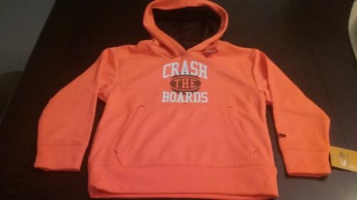 boys zipped hoodie warm fleece sweatshirt XS S 4 5 6 7 Champion target New NWT
