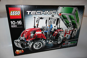 lego technic 8063 traktor mit anh nger neu tractor with. Black Bedroom Furniture Sets. Home Design Ideas
