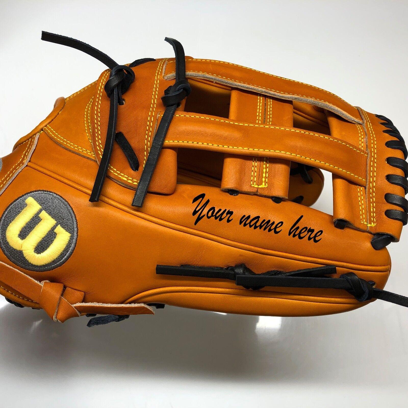 Wilson A2000 1799 12.75  Guante de béisbol  nombre Grabado Gratis.