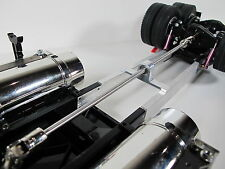 Extended Drive Shaft 12 inch + Mount Tamiya 1/14 Semi King Knight Hauler Scania