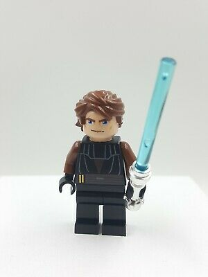 Lego Minifig Minifigure Star Wars Anakin Clone Wars 8098 7931 7675 lightsaber