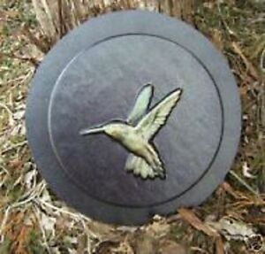 Details about Hummingbird small stepping stone concrete plaster mold mould