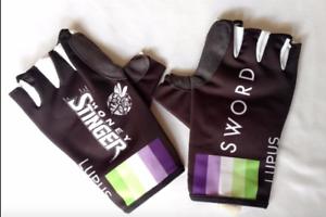 Noir Nouveau 2016 homme BIEMME Lupus Pro Course Cycliste Gants Taille L