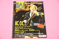"RARO RIVISTA DISCOGRAFIA LP 7"" EX N° 127 AC DC TENCO ANDROMEDA ......"
