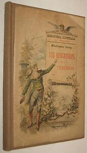 1893-LOS-BUSCADORES-DE-TESOROS-WASHINGTON-IRWING-GRABADOS